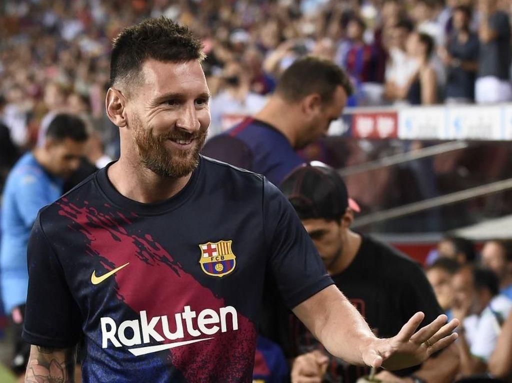 Messi Tolak Tawaran Kontrak Seumur Hidup di Barcelona