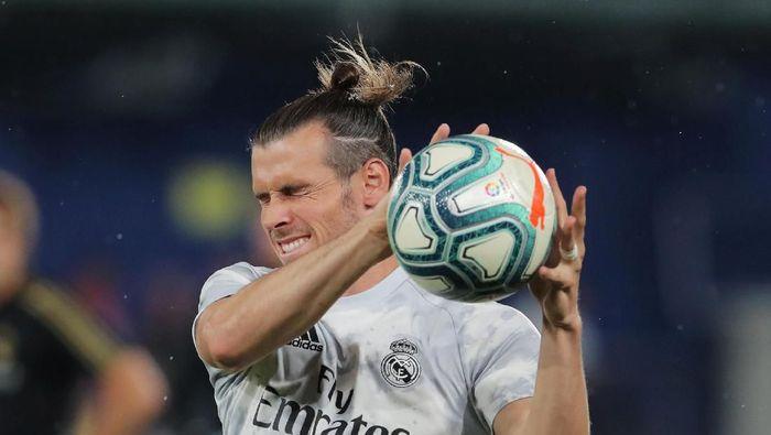 Gareth Bale merasa jadi kambing hitam atas kegagalan Real Madrid. (Foto: Juan Medina/Reuters)