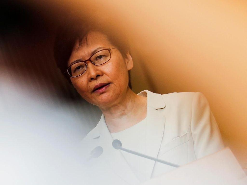 RUU Ekstradisi Dicabut, Pemimpin Hong Kong Harap Aksi Protes Reda