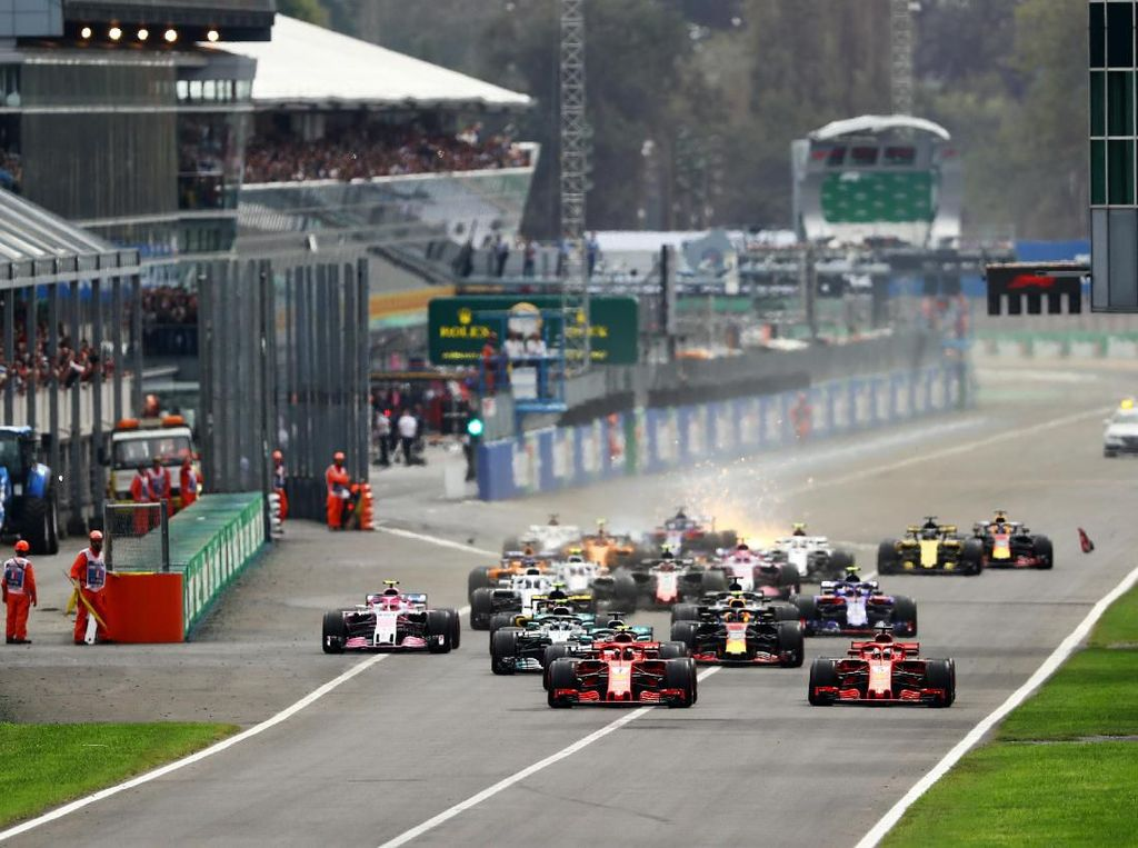 Monza Gelar F1 Hingga 2024
