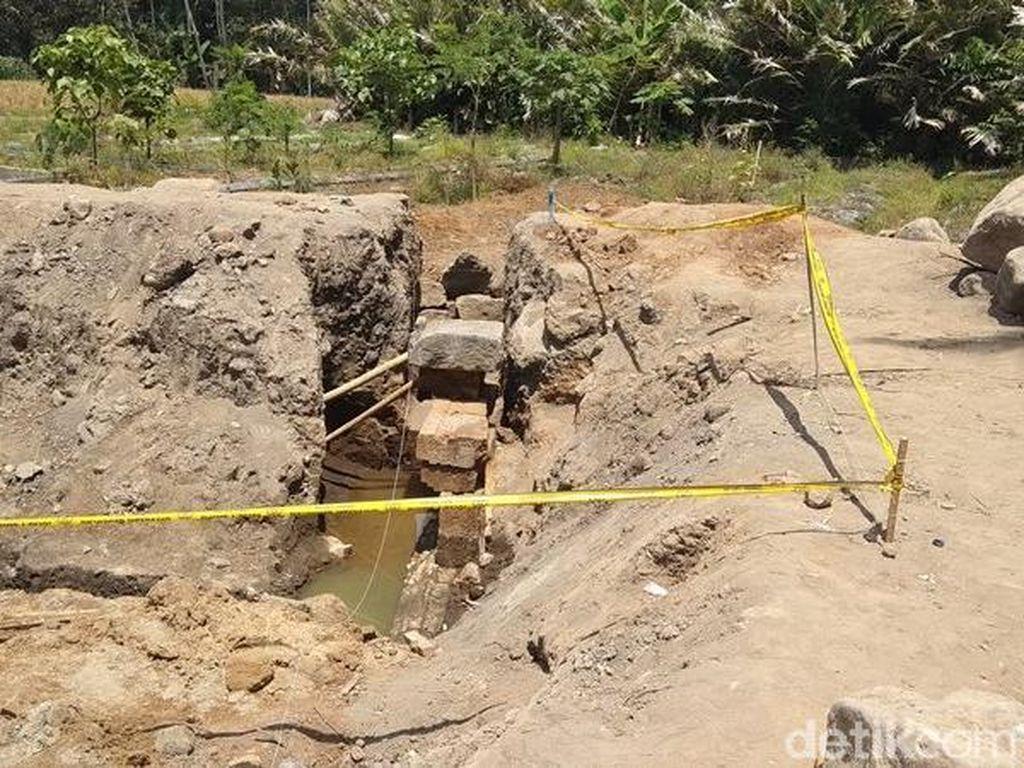 Candi Petirtaan yang Ditemukan di Magelang Diduga Dibangun Abad IX
