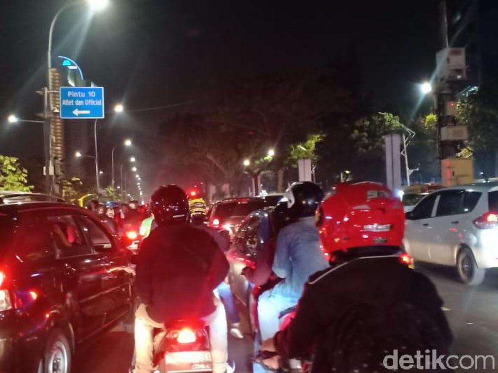 Imbas Aksi Massa Pelajar di DPR, Ini Titik Kemacetan di Jakarta
