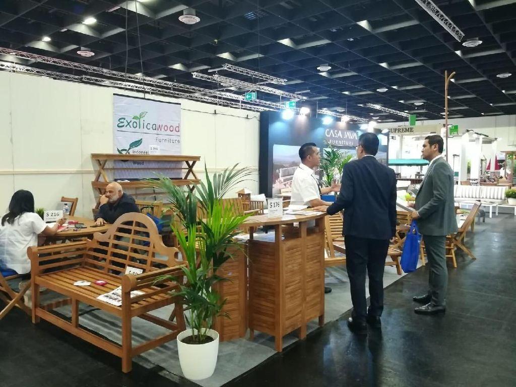 Produk Furnitur Indonesia Tembus Pasar Internasional di Cologne Jerman