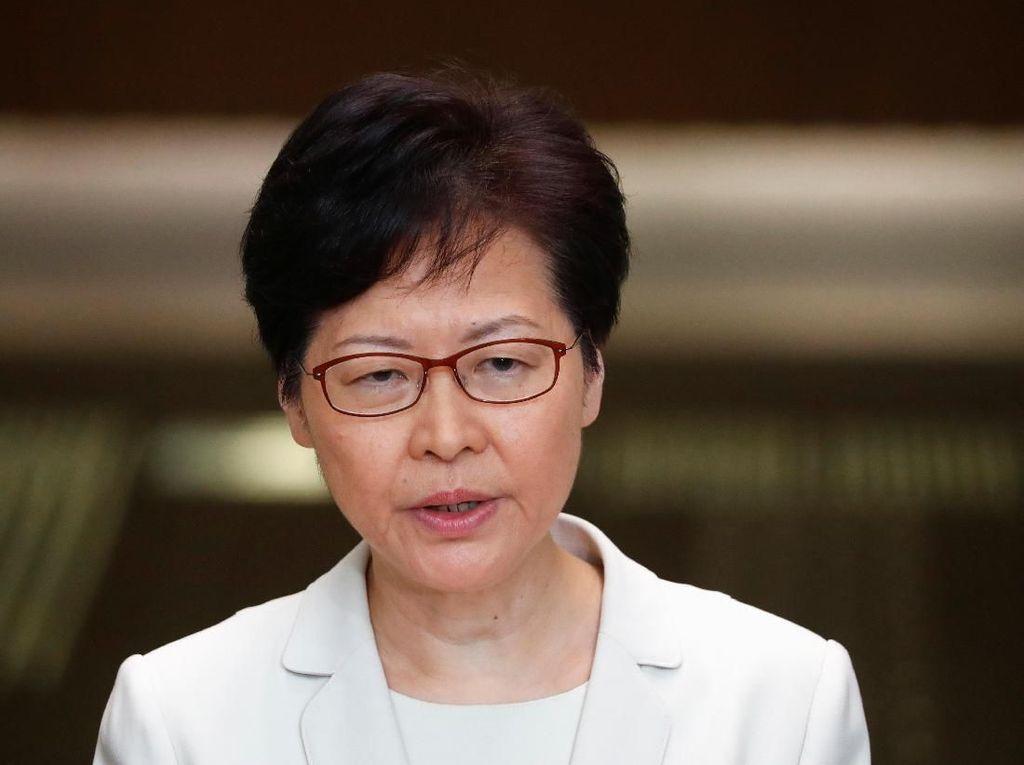 AS Blacklist Pemimpin Hong Kong dan Pejabat Tinggi Lainnya