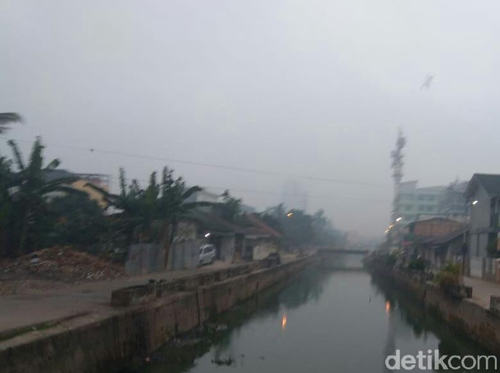 Kabut Asap Kembali Selimuti Palembang Pagi Ini