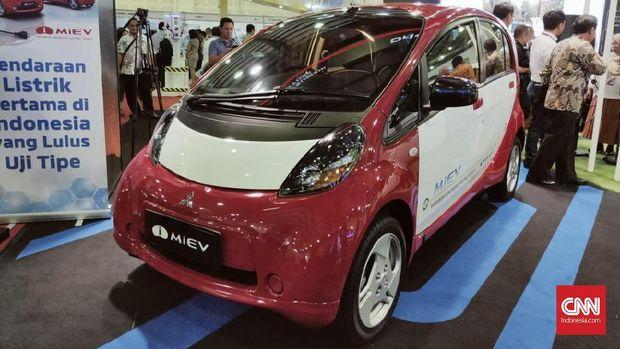 Mitsubishi Nilai Belum Pas Jual i-MiEV di Indonesia