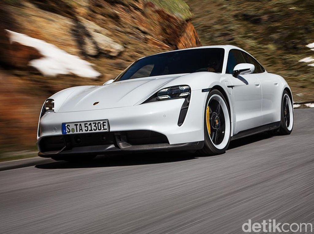 Mobil Listrik Perdana Porsche