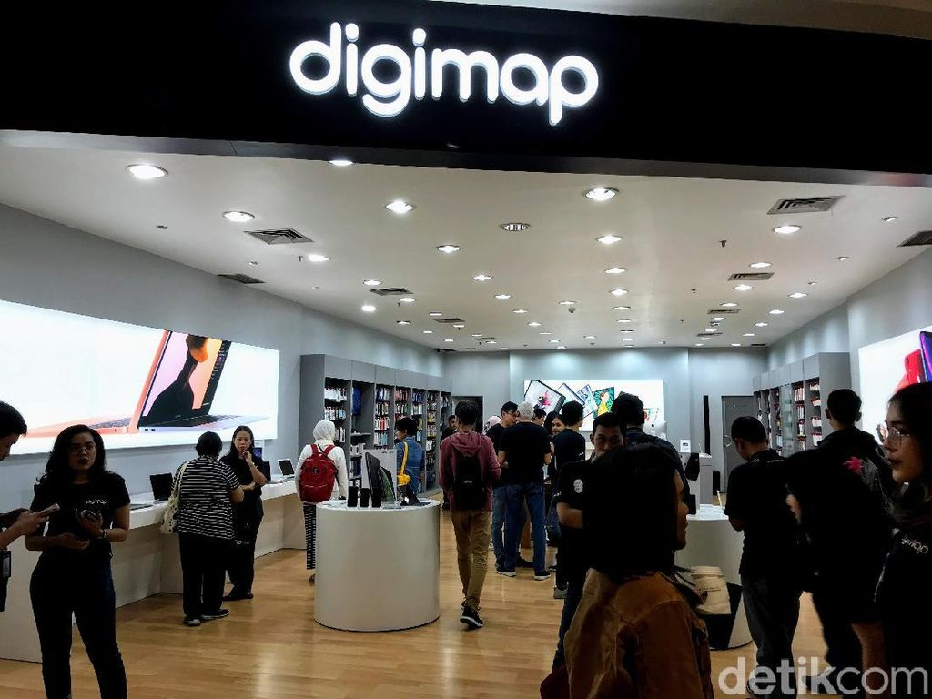 Berkunjung ke Digimap, Apple Store Besutan MAP