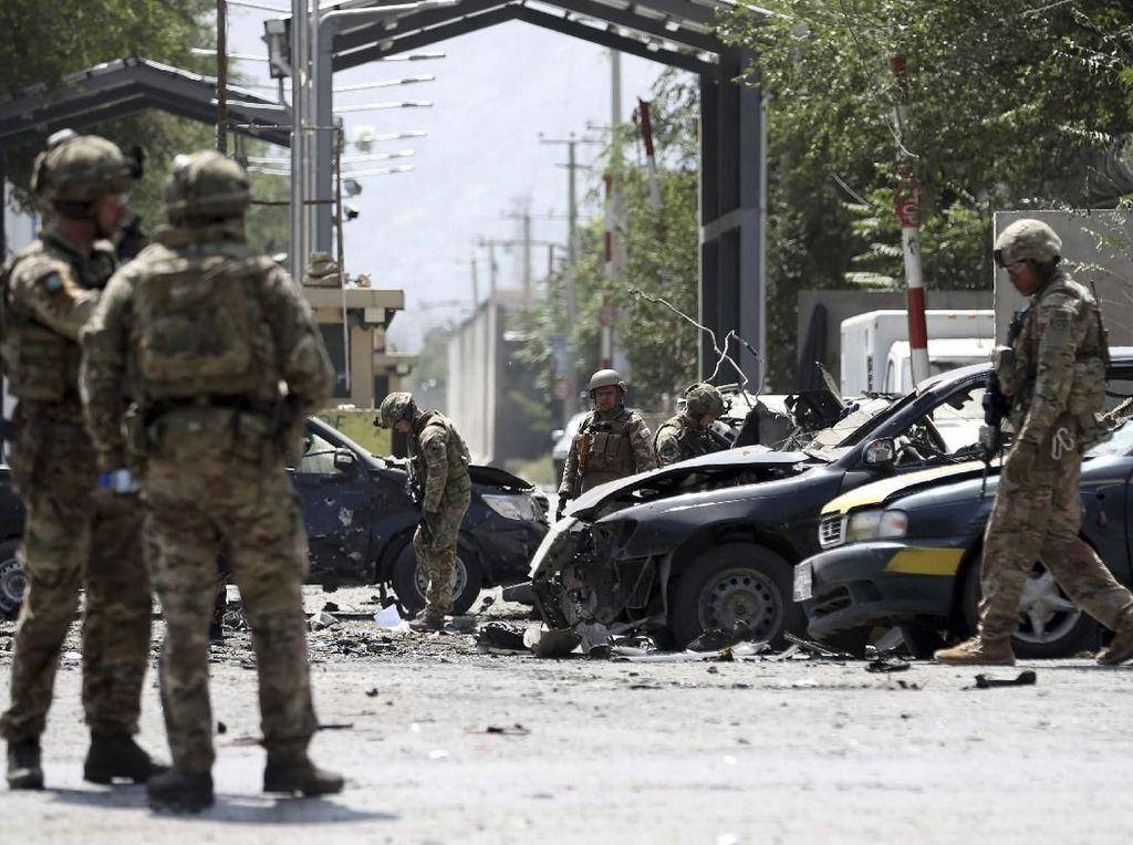Serangan Taliban di Kampanye Pilpres Tewaskan 46 Orang