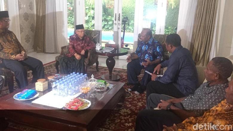 Pendeta dari Papua-Papua Barat Bertemu Maruf Amin