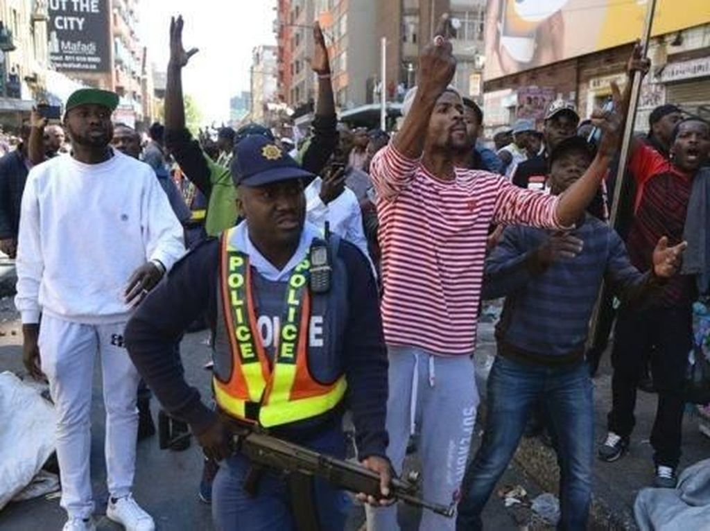 Afrika Selatan Dilanda Kerusuhan Menentang Warga Asing