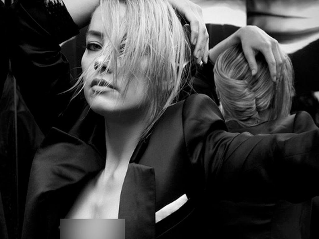 Potret Seksi Amber Heard, Si Bintang Aquaman di Majalah