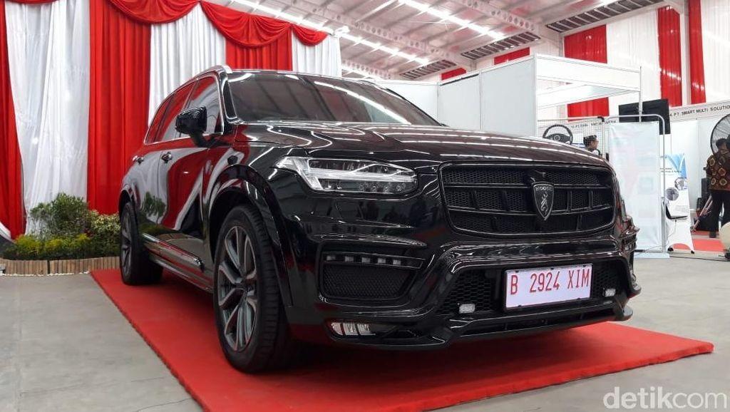 Intip Mobil SUV Esemka, Ada yang Antipeluru, Buat Jokowi?