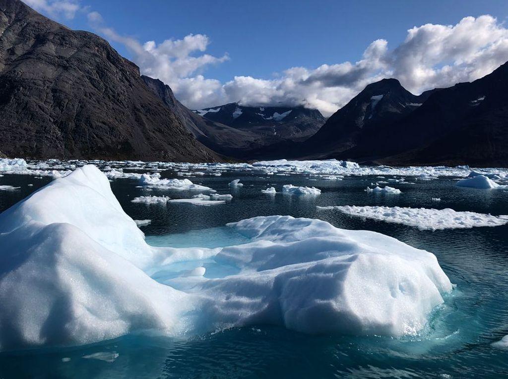 Bumi Makin Panas! Setahun, 532 Miliar Ton Es Greenland Lenyap