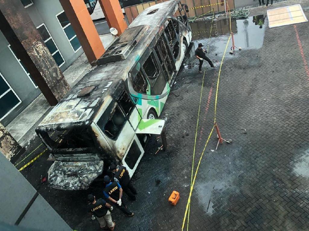 Bus Penumpang 2 Kali Terbakar di Ngurah Rai, AP I Akan Konsultasi ke Kemenhub