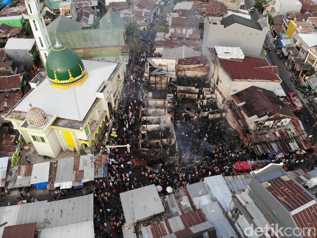 8 Rumah Terbakar di Makassar