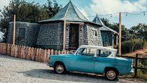 Foto: Penginapan Unik Replika Rumah Hagrid