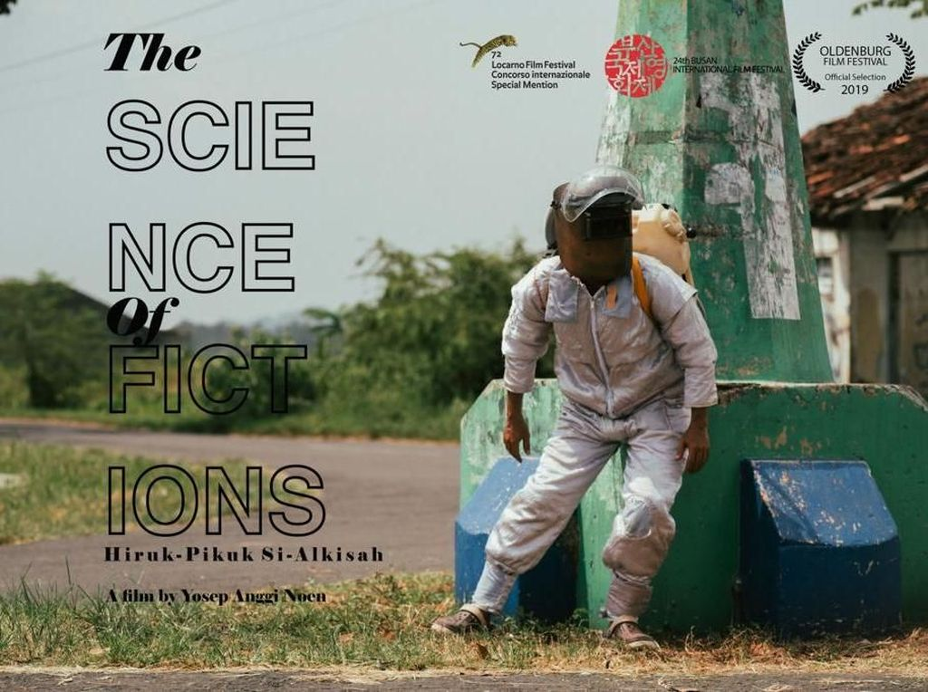 Film The Science of Fictions, Alkisah Siman Si Manusia Astronaut