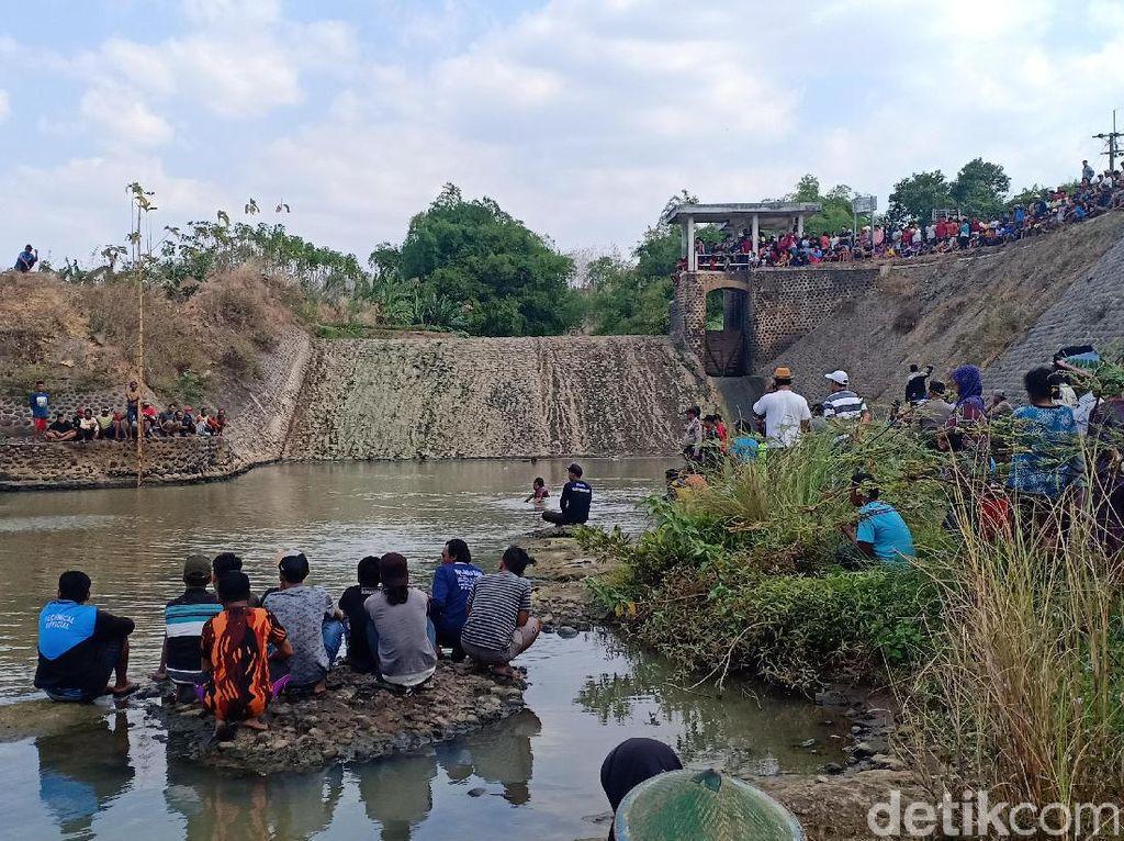 3 Kuli Bangunan Tewas Tenggelam Saat Mandi di Bendungan Wates Madiun