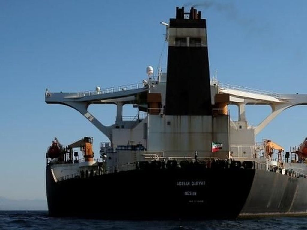 AS Tawarkan Jutaan Dolar ke Kapten Kapal Tanker Iran agar Bisa Ditangkap