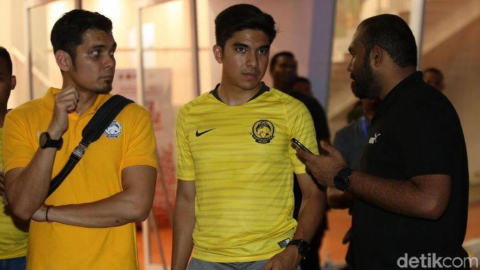 Menpora Malaysia tegaskan bahwa FAM akan laporkan kericuhan di GBK kepada FIFA (Foto: Agung Pambudhy)