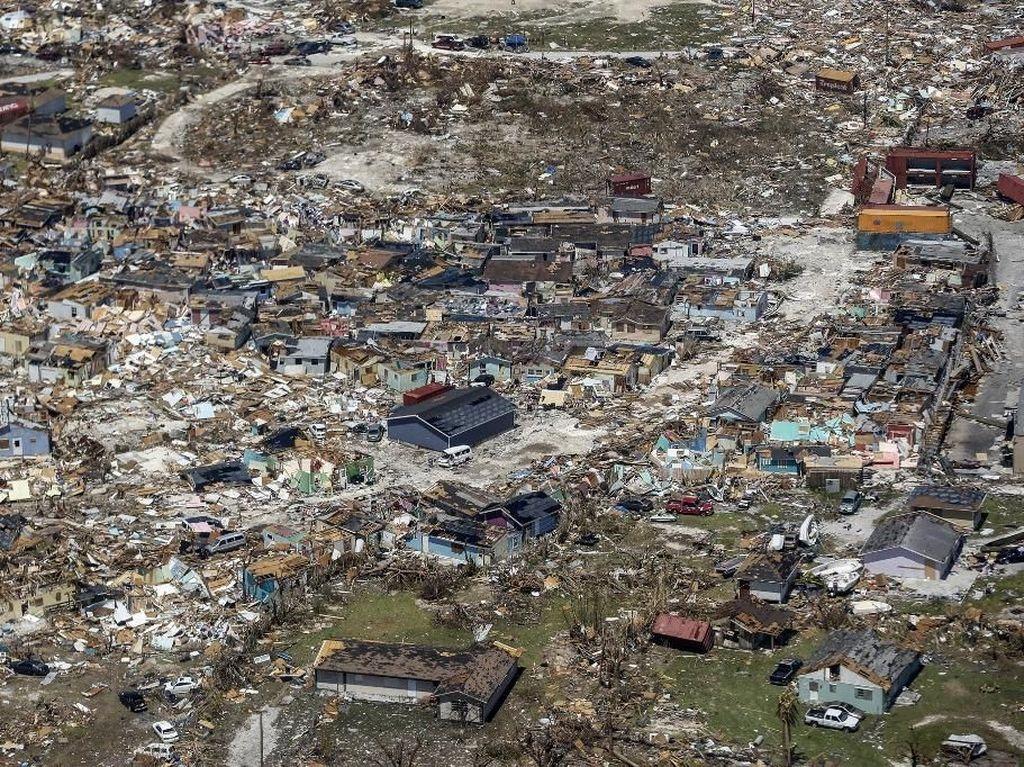 2.500 Orang Hilang Usai Badai Dorian Terjang Bahama