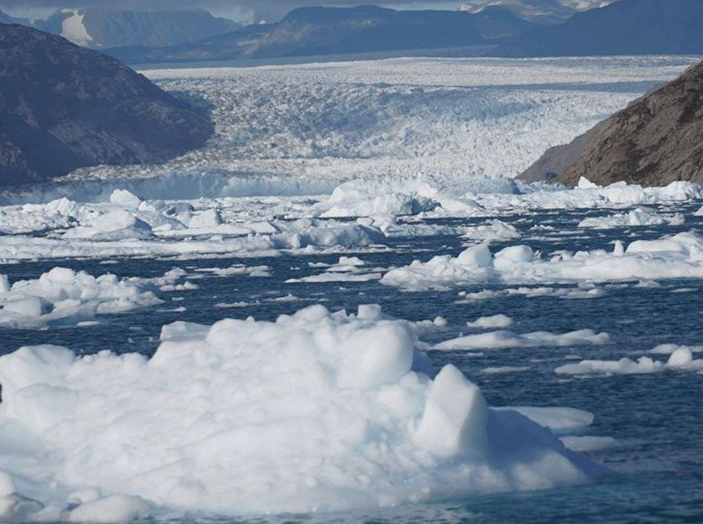 Foto: Nestapa Greenland yang Semakin Mencair