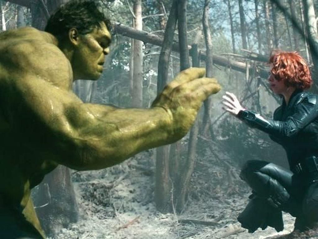 Takdir Hulk dan Black Widow yang Tak Happy Ending