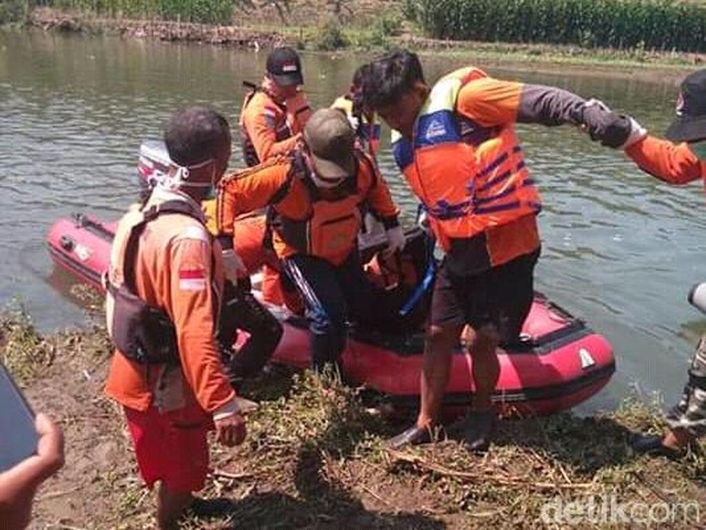 Pemancing yang Tenggelam di Sungai Brantas Jombang Ditemukan Tewas