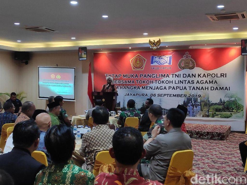 Tokoh Agama di Papua Saling Bertemu, Bicara soal Papua Tanah Damai