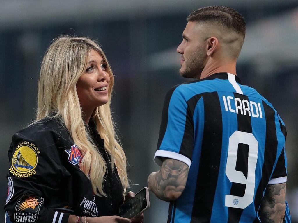Terkait Wanda Nara, Icardi Bantah Ribut dengan Messi