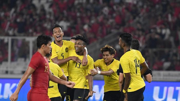 Malaysia kalah 1-2 dari Uni Emirat Arab (Foto: ANTARA FOTO/M Risyal Hidayat)