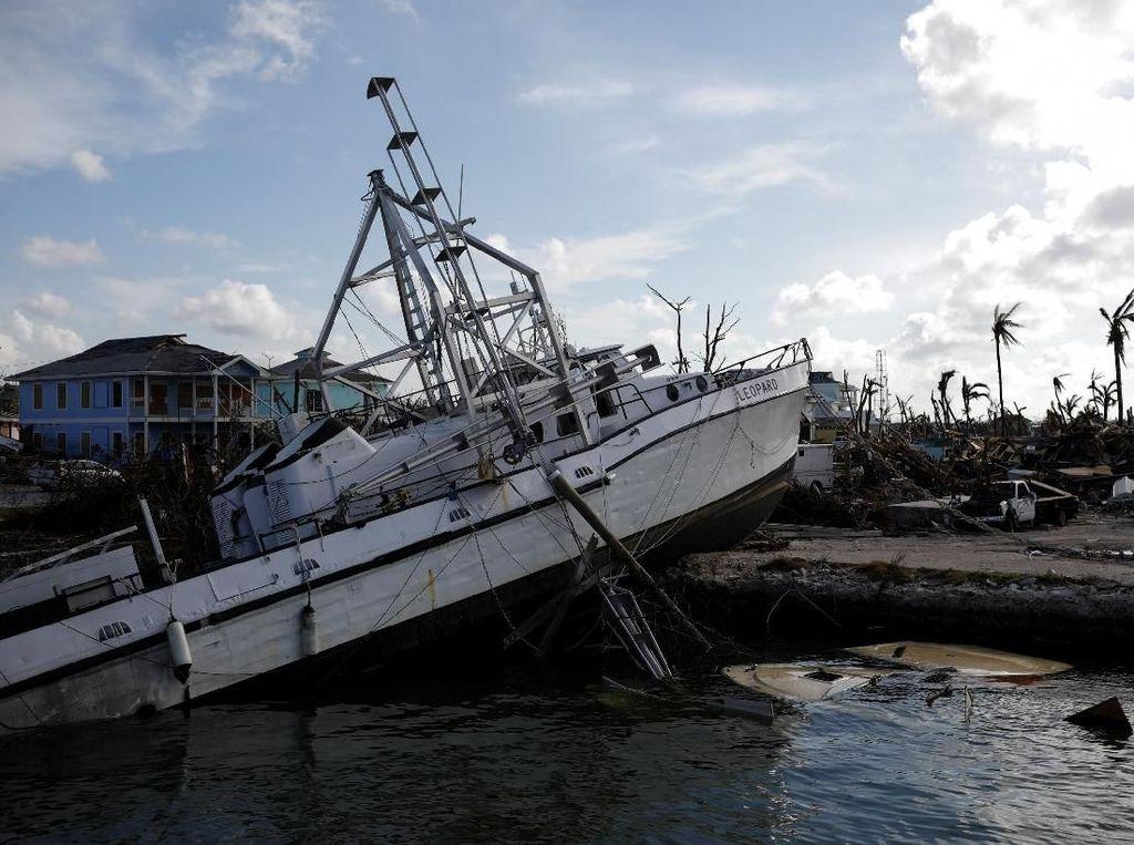 Korban Tewas Akibat Badai Dorian di Bahama Bertambah Jadi 30 Orang