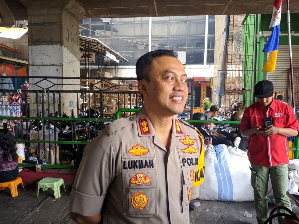 Polisi Patroli Intensif di Tanah Abang Cegah Aksi Pemalakan Terulang