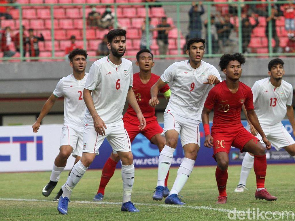 Kalah dari Iran, Timnas U-19 Belum Kompak