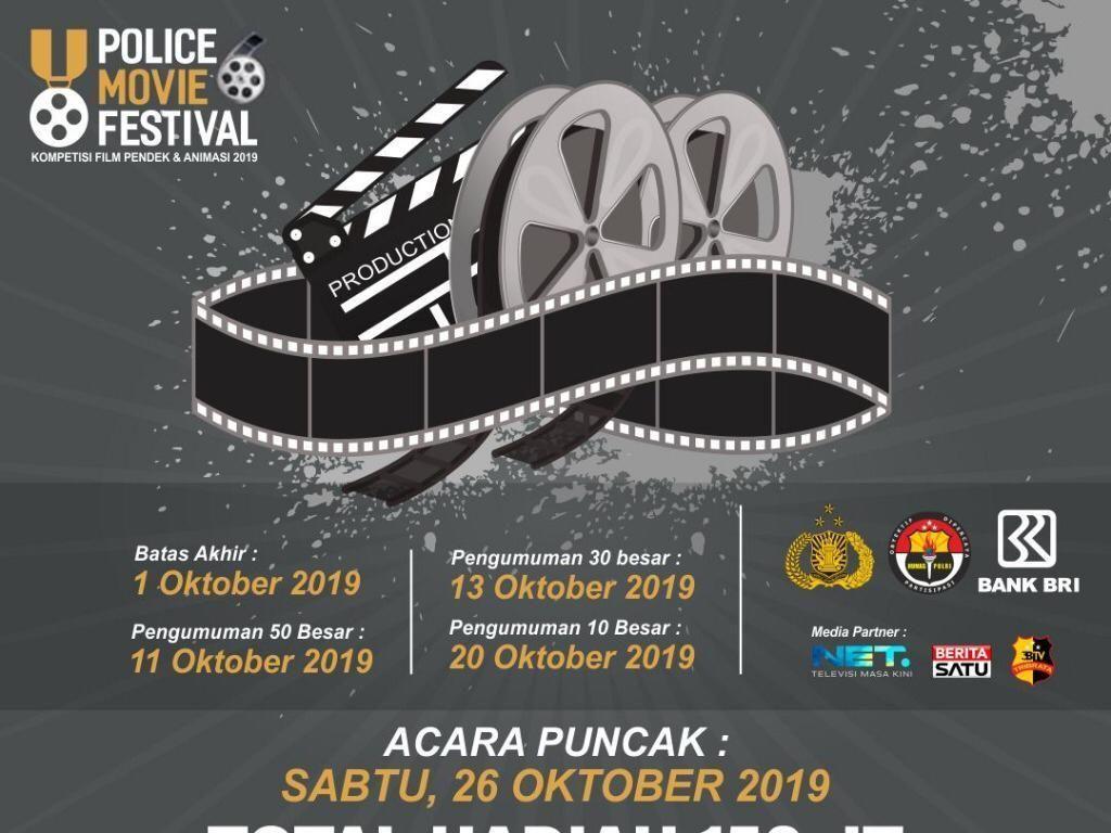 Police Movie Festival 2019 Ungkap Sisi Lain Polisi