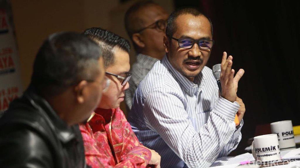 Abraham Samad dan Anggota DPR Bahas Revisi UU KPK