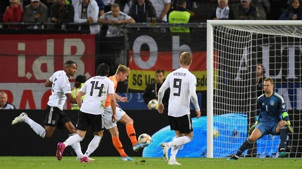 Jerman Vs Belanda: Hujan Gol, De Oranje Menang 4-2