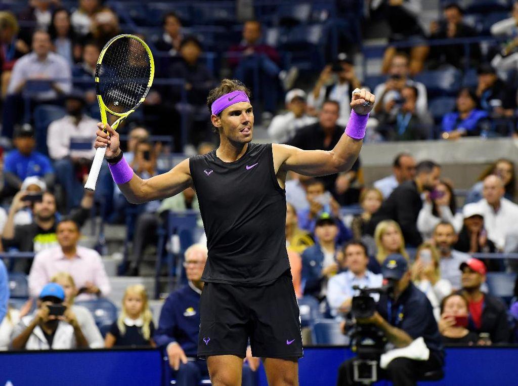 Nadal Ditantang Daniil Medvedev di Final AS Terbuka 2019