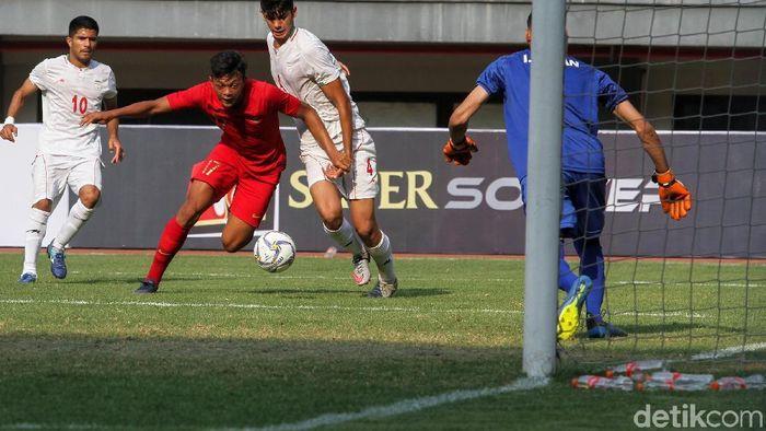 Timnas Indonesia U-19 menang tipis 1-0 atas Iran (Foto: Rifkianto Nugroho)