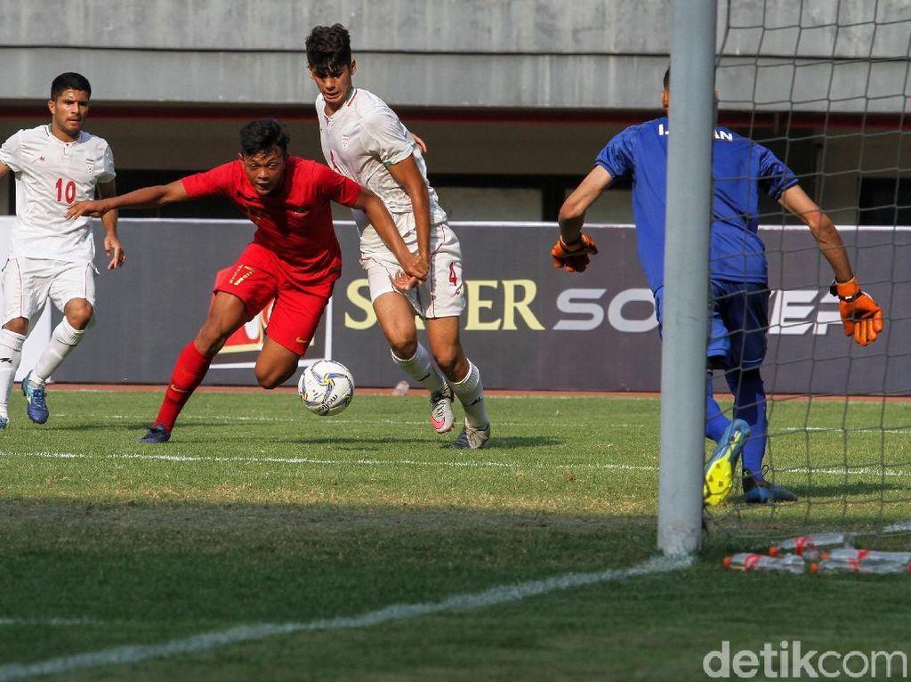 Timnas Indonesia U-19 Vs Iran: Garuda Muda Menang Tipis 1-0