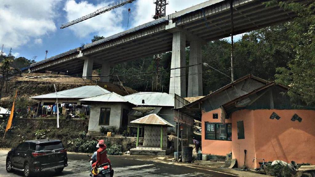 Jalan Pintas Mangwitani-Singaraja di Bali Rampung Akhir 2019