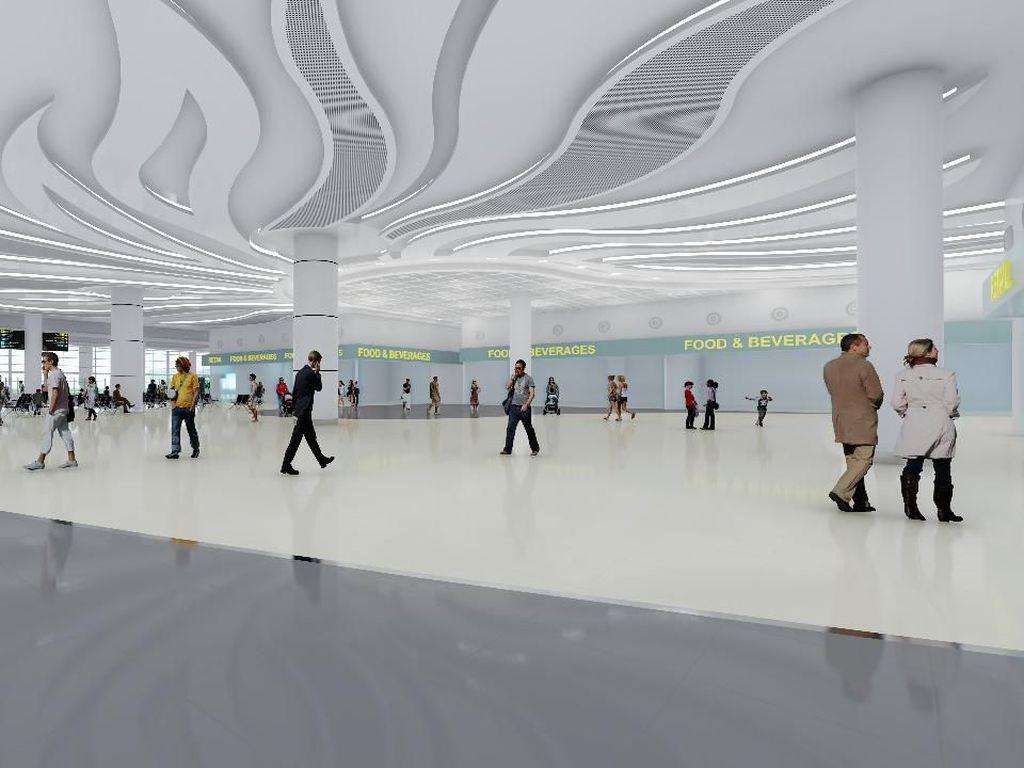 Amazing! Ini Lho Desain Bandara Megah di Banjarmasin