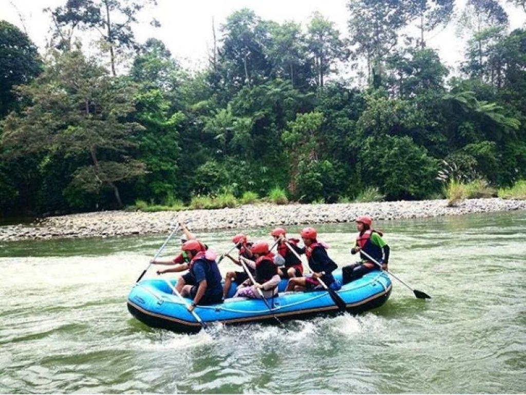 Uji Nyali Arung Jeram di Lubuk Linggau