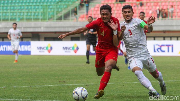 Timnas Indonesia U-19 kalah lawan Iran U-19. (Foto: Rifkianto Nugroho/detikcom)