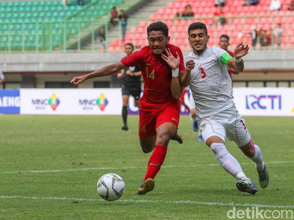 Timnas U-19 Vs Iran: Indonesia Kalah 2-4
