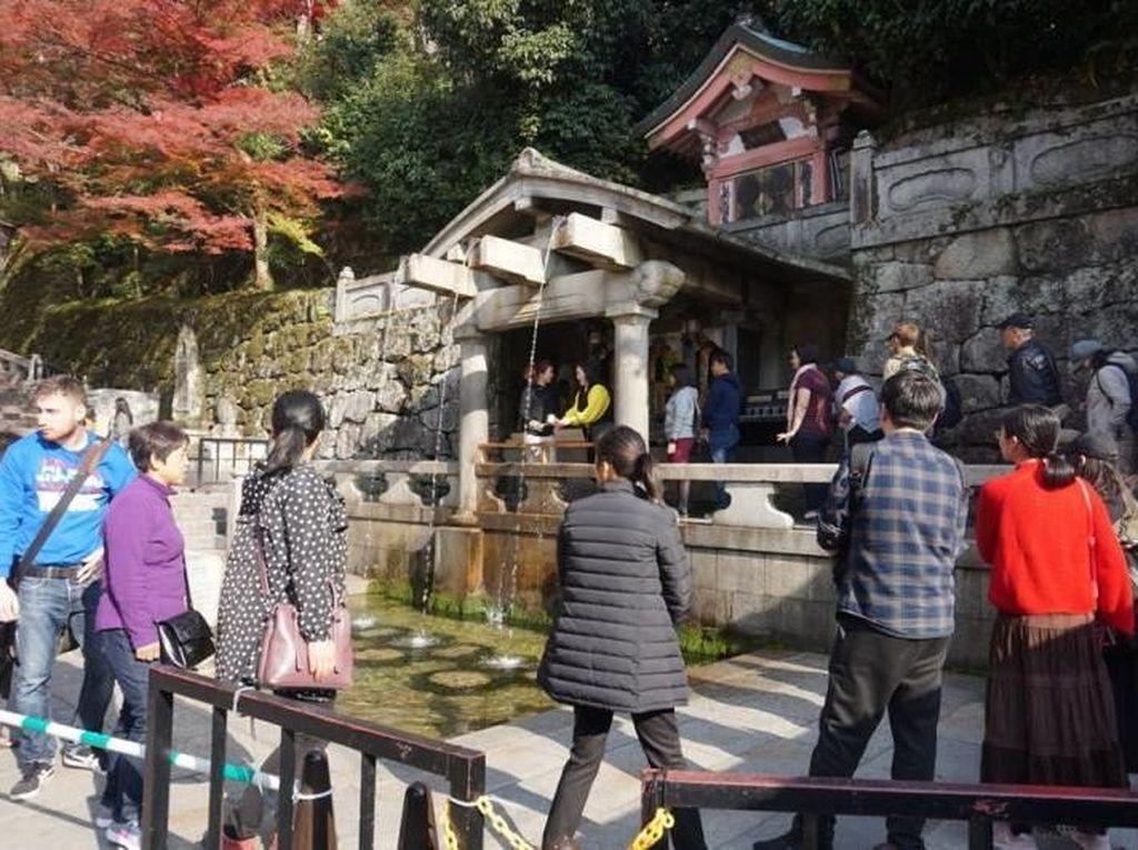 Potret Kuil Air Suci dari Kyoto