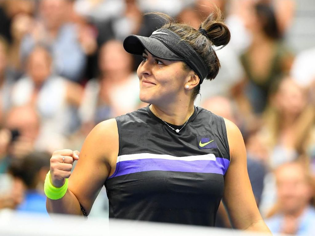Tundukkan Serena, Andreescu Juarai AS Terbuka 2019