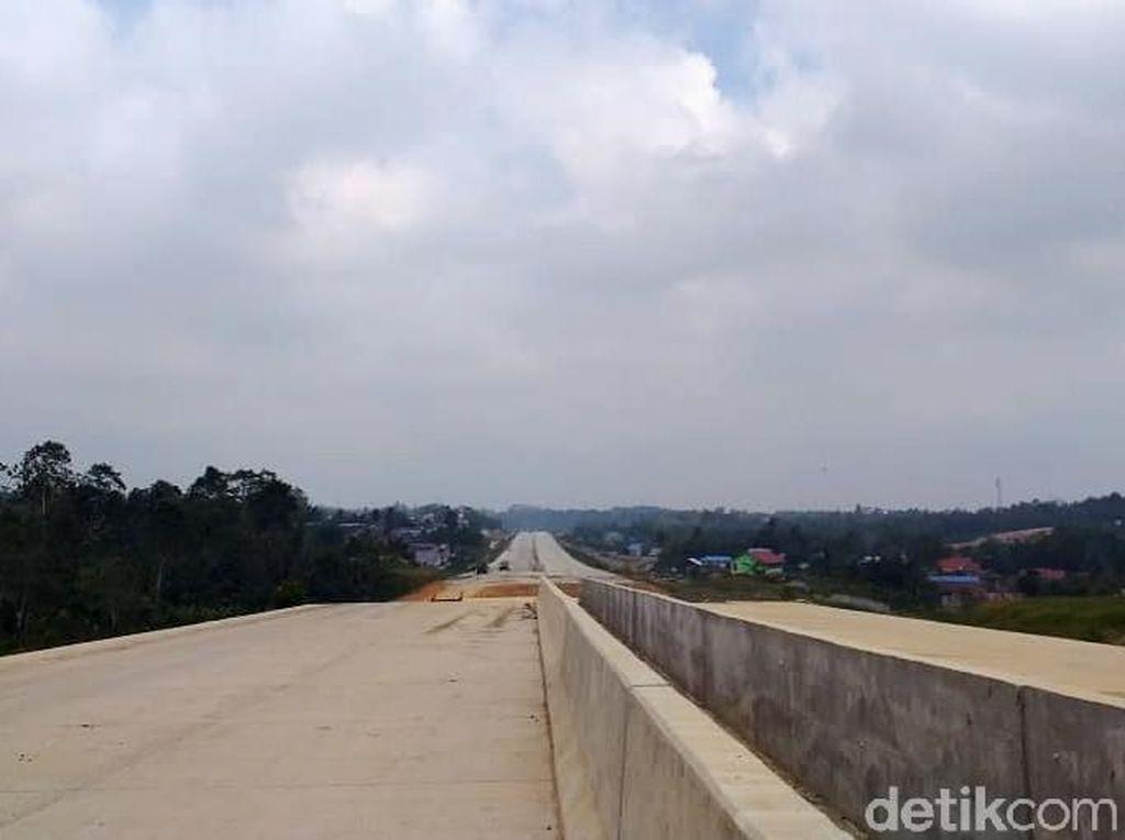 Menanti Jalan Tol Pertama di Kalimantan Rampung