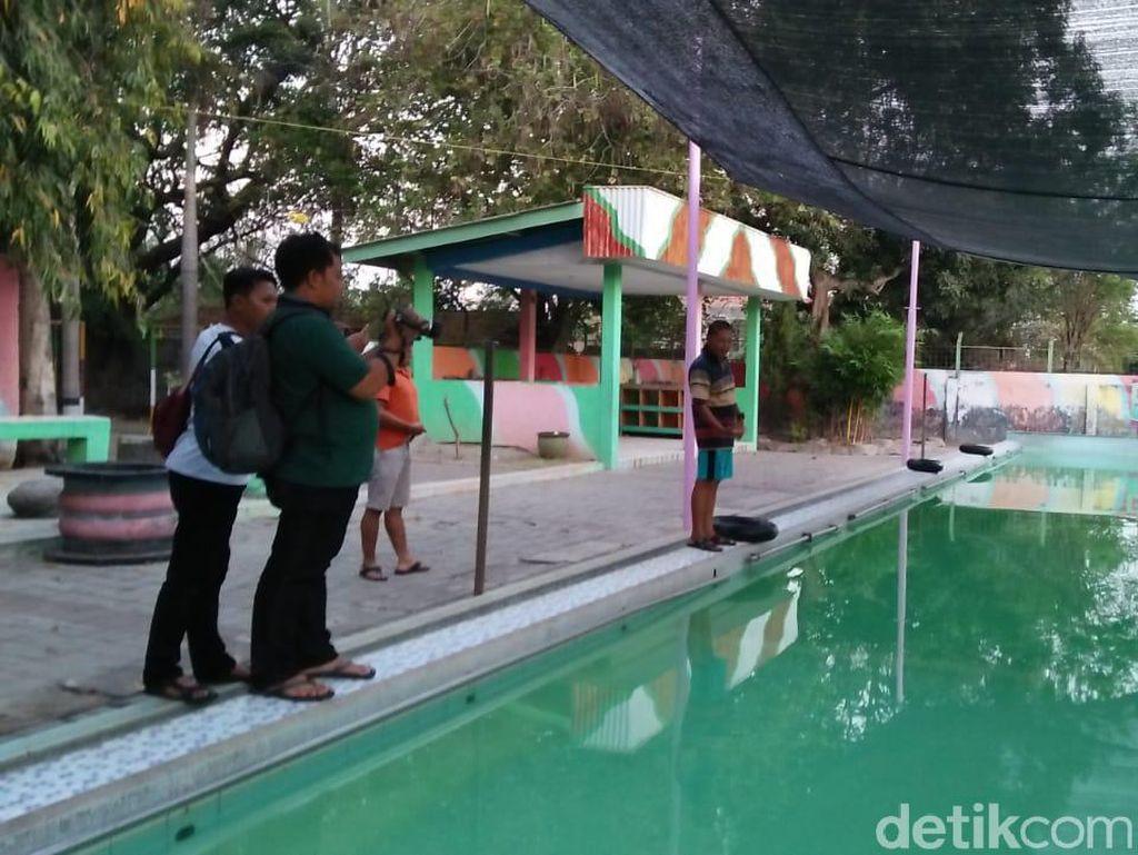 Seorang Pria Tewas Saat Terapi di Kolam Renang Mojokerto